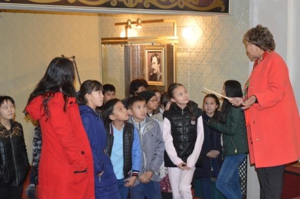 Была организована экскурсия в мемориальный музей «Алтынэмель»Шокана Уалиханова в Кербулакском районе