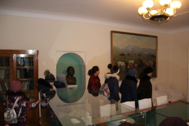 Учащиеся Дворца школьников посетили историко-краеведческий музей им.Н.Алдабергенова