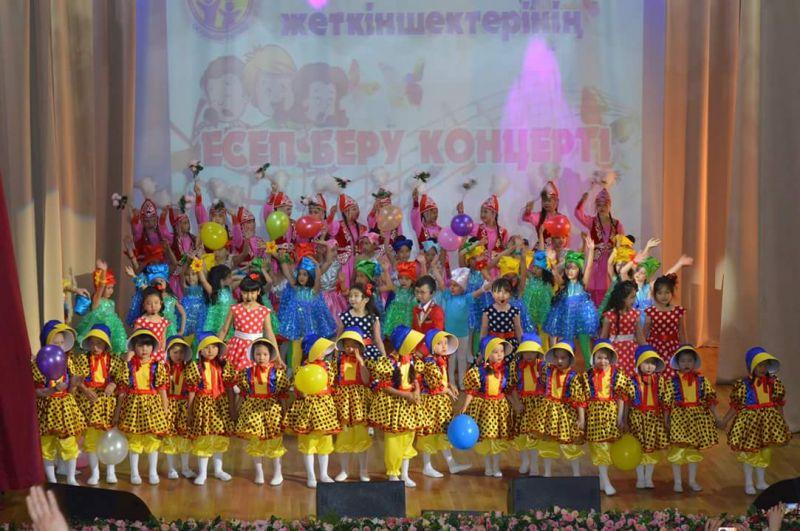 Отчетный концерт обучающихся Дворца школьников