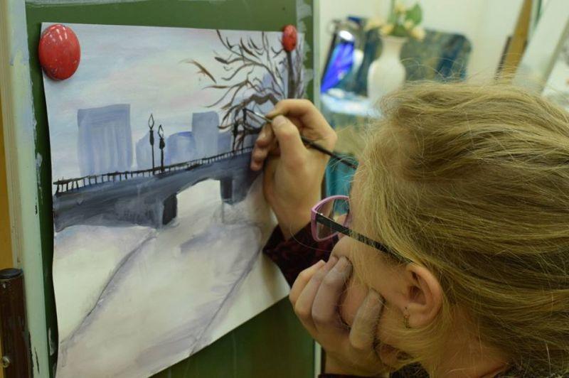 Мастер-класс по изобразительному искусству