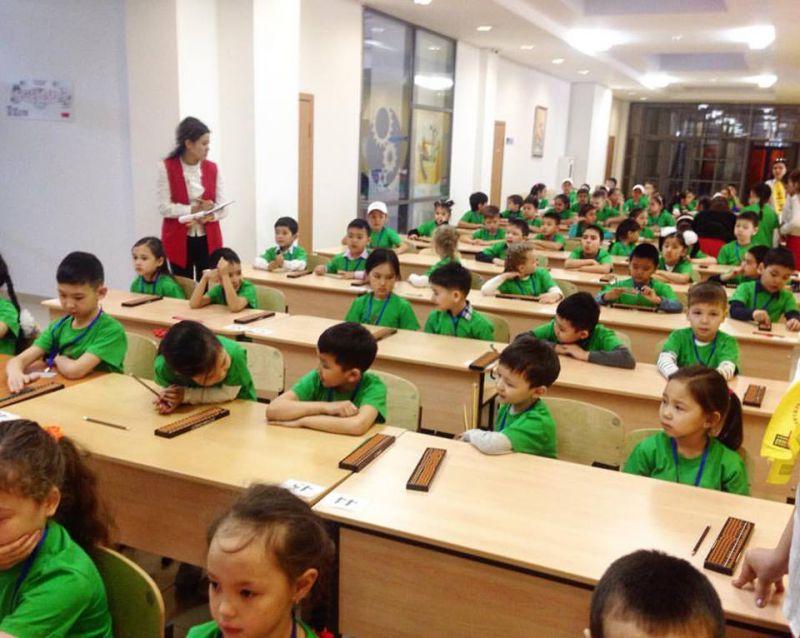 II Областная олимпиада Международной школы ментальной арифметики ЮСМАС